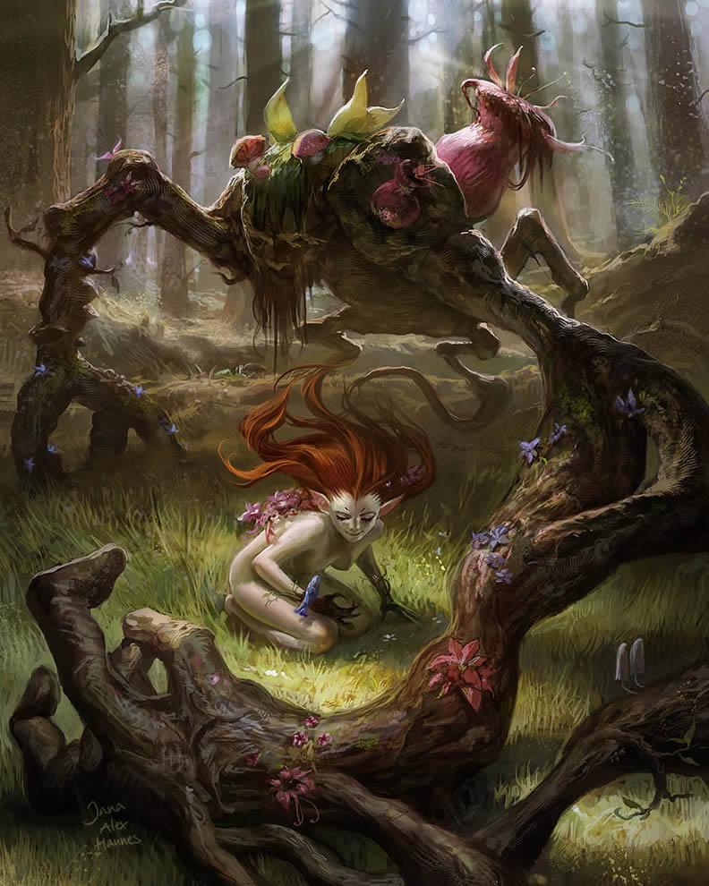 Deviant Art Fantasy Magic Tree