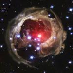 Изображений с космического телескопа Хаббл v838