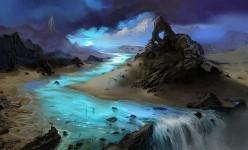bluewaterfall