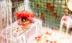 bathtubred