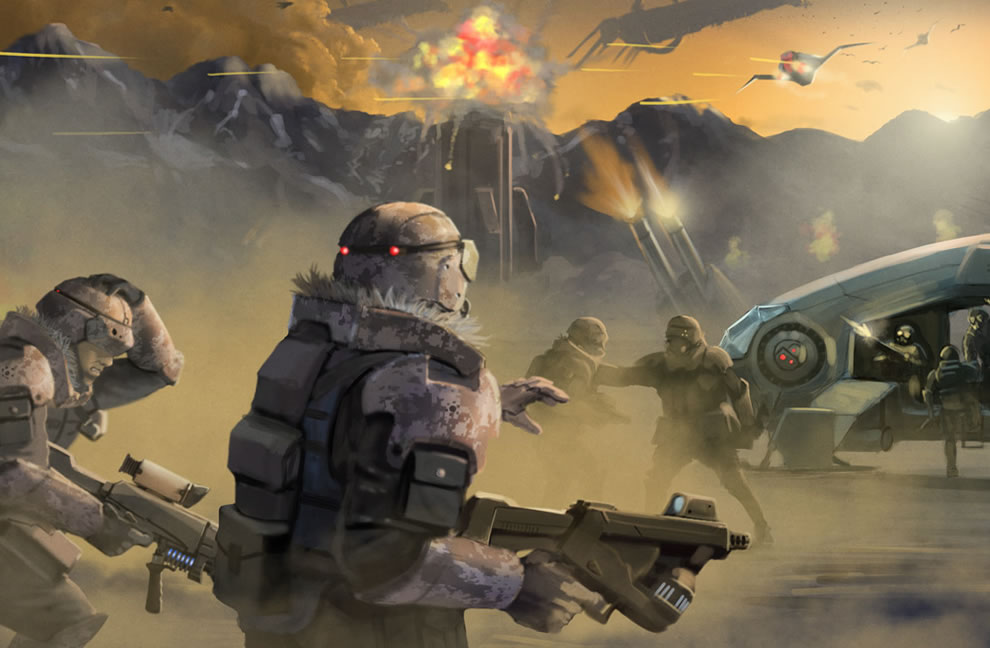 sci fi invasion