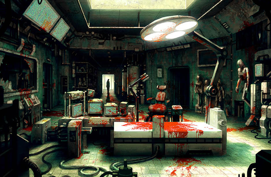 Laboratory coolvibe digital artcoolvibe digital art for Escape room concept