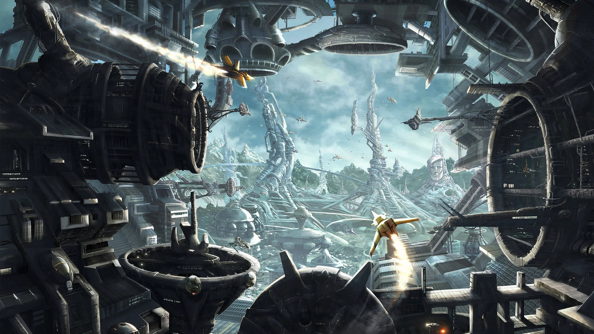 World Wallpaper Sci Fi Wallpaper: Sci-fi Wallpaper Of The Week #9