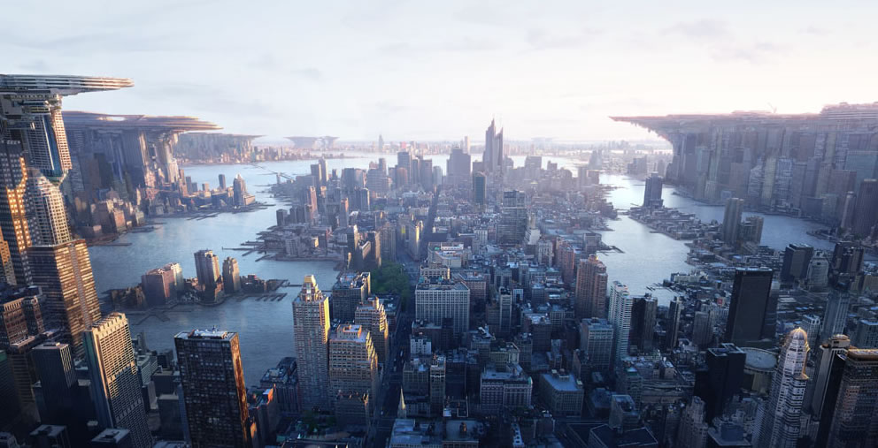 Manhattan 2150 - 3D, Digital paintingsCoolvibe – Digital Art