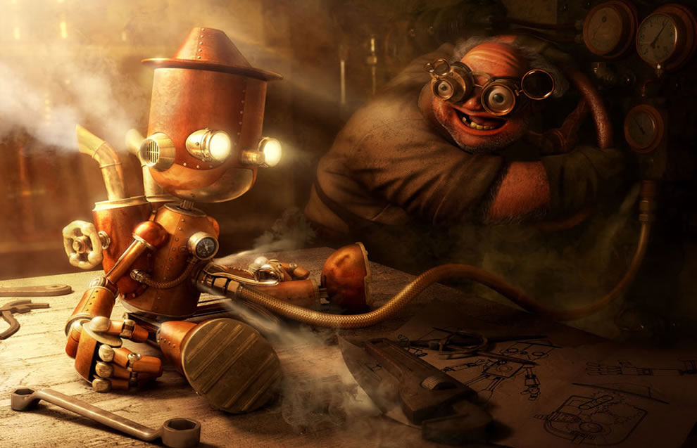 Steampunk Pinocchio