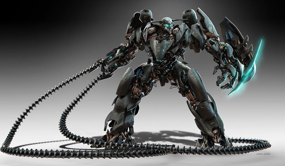 Sci Fi Transformer : Transformer concept d moviescoolvibe digital art