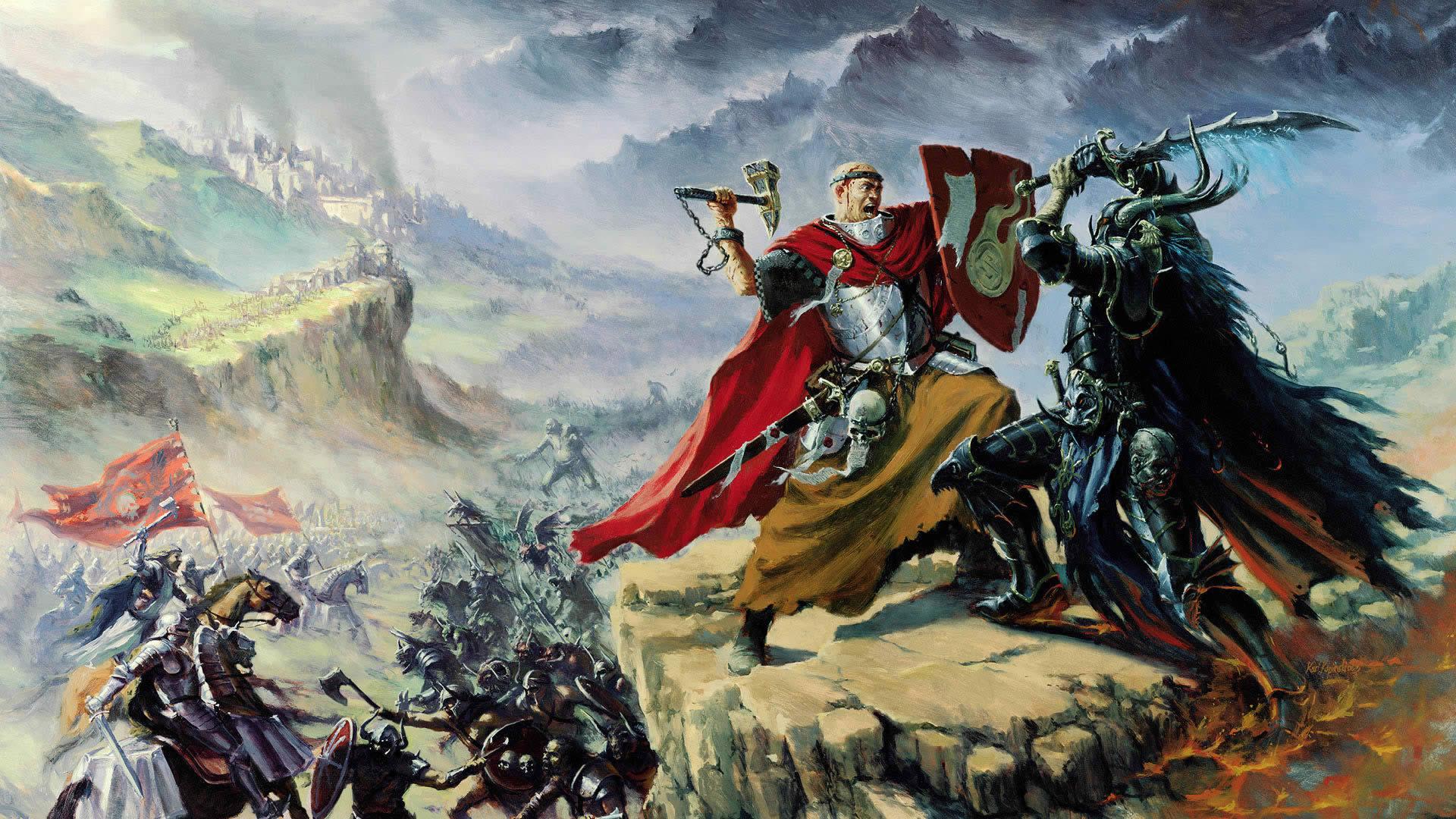 Epic Battle Scene Wallpaper