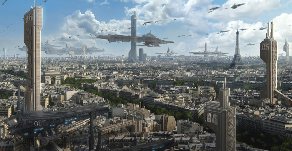 Paris In The Year 3000 Futurology