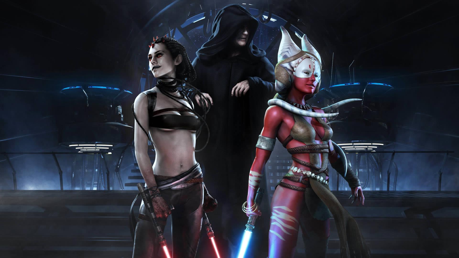 dark side ladies coolvibe   digital artcoolvibe