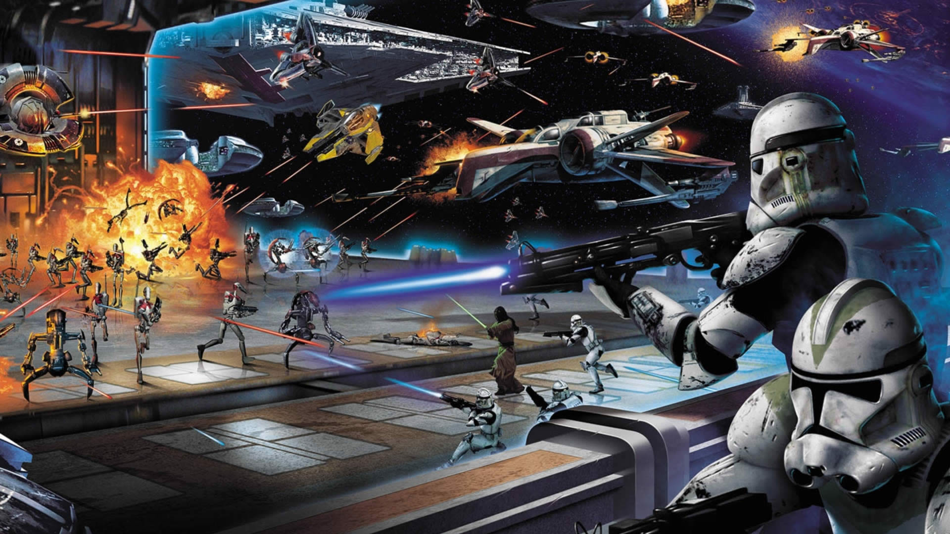 40 epic star wars wallpapers