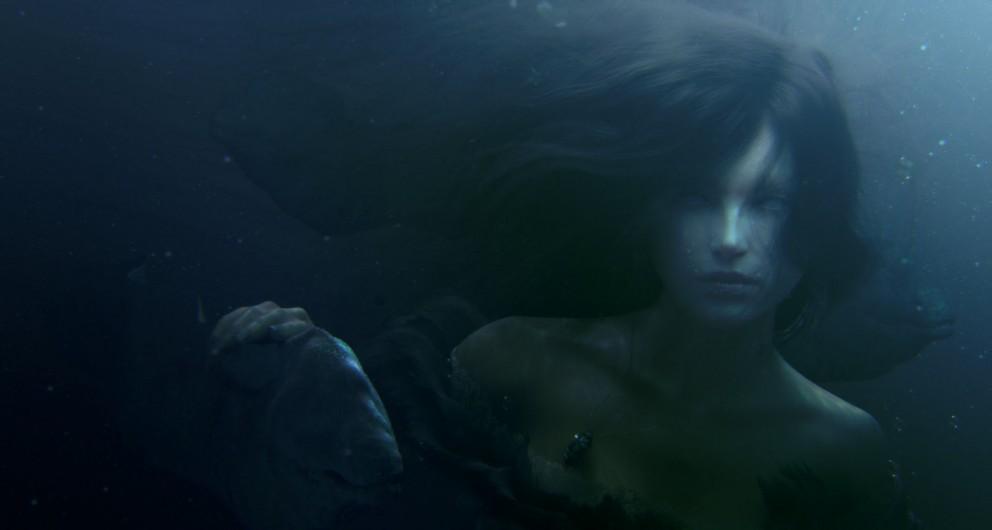 Dark Mermaid Art Mermaid's Stare - Digi...