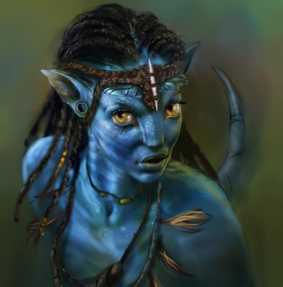Avatar Movie: Neytiri Avatar By MrDExArts