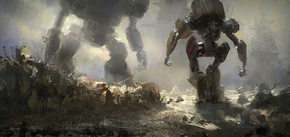 robot vs robot