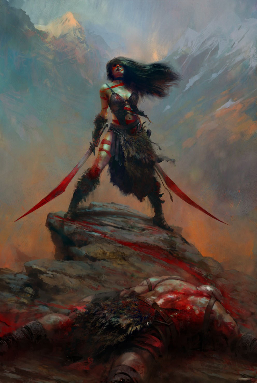 Barbarian_Chick_by_tiger1313-992×1481 - CoolVibe – Digital Art & Inspiration