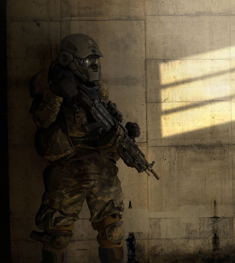 Elite_Soldier_by_wiredgear - CoolVibe – Digital Art & Inspiration