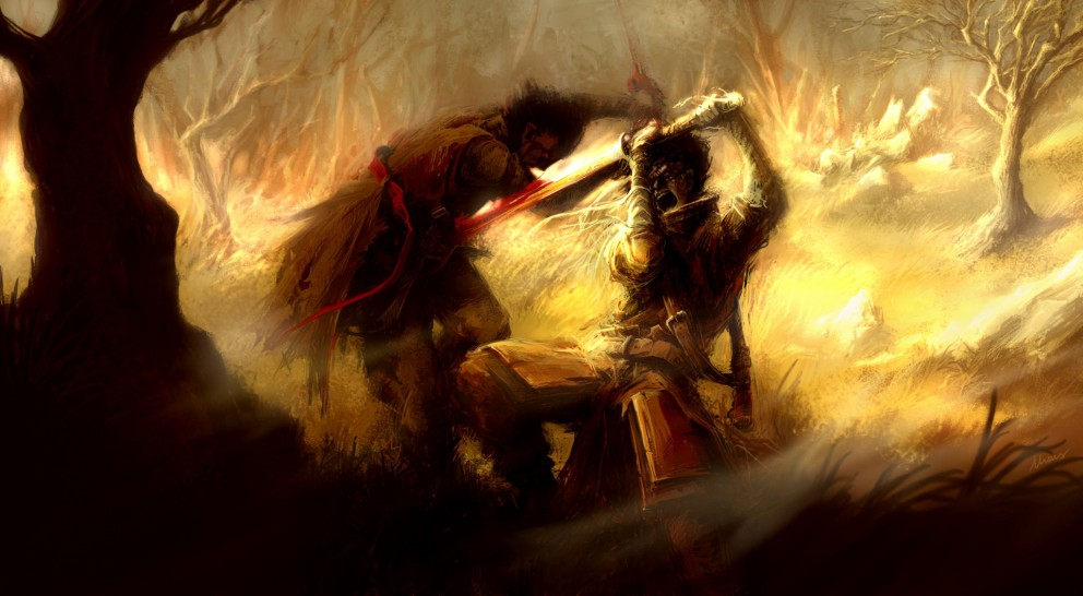 Fight_by_Mzag - CoolVibe – Digital Art & Inspiration