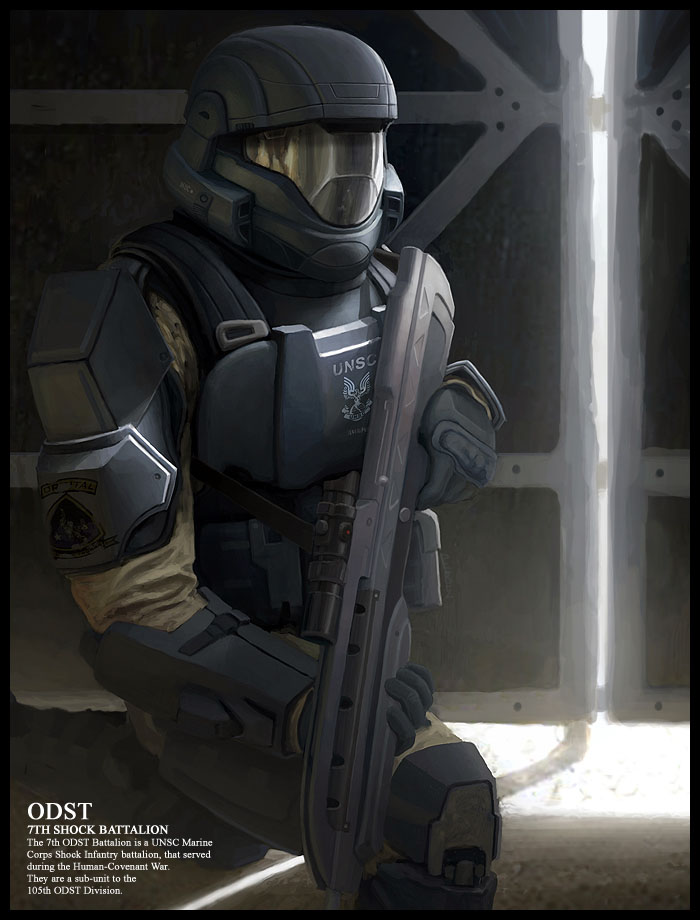 ODST_by_wiredgear - CoolVibe – Digital Art & Inspiration