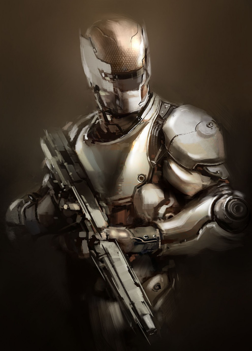 Soldier_by_Gryphart - CoolVibe – Digital Art & Inspiration
