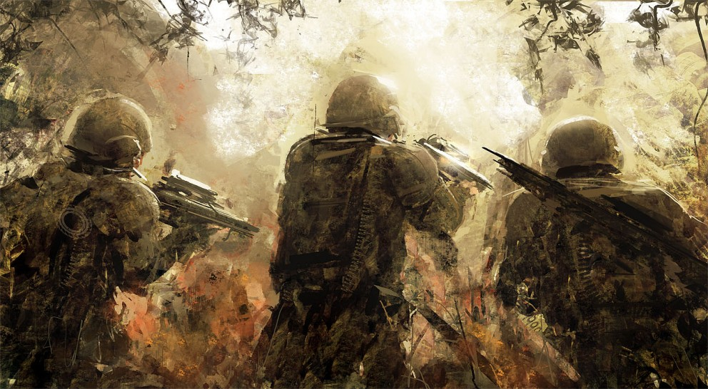 Soldiers_by_AndreeWallin - CoolVibe – Digital Art & Inspiration