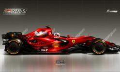 Ferrari_F2008_by_emrehusmen