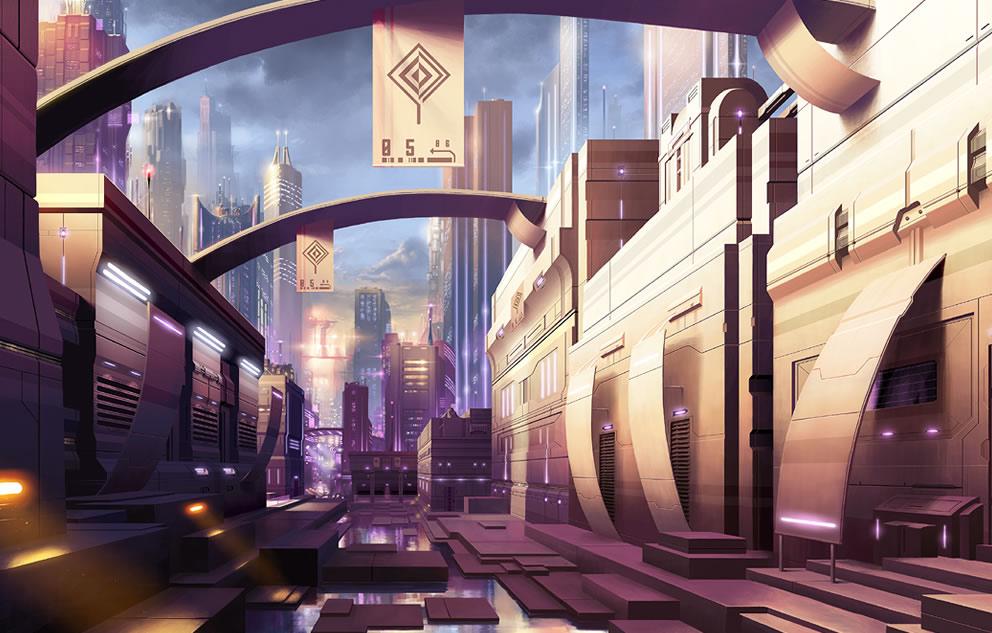 Concept Art, Digital Paintings, Sci-fiCoolvibe