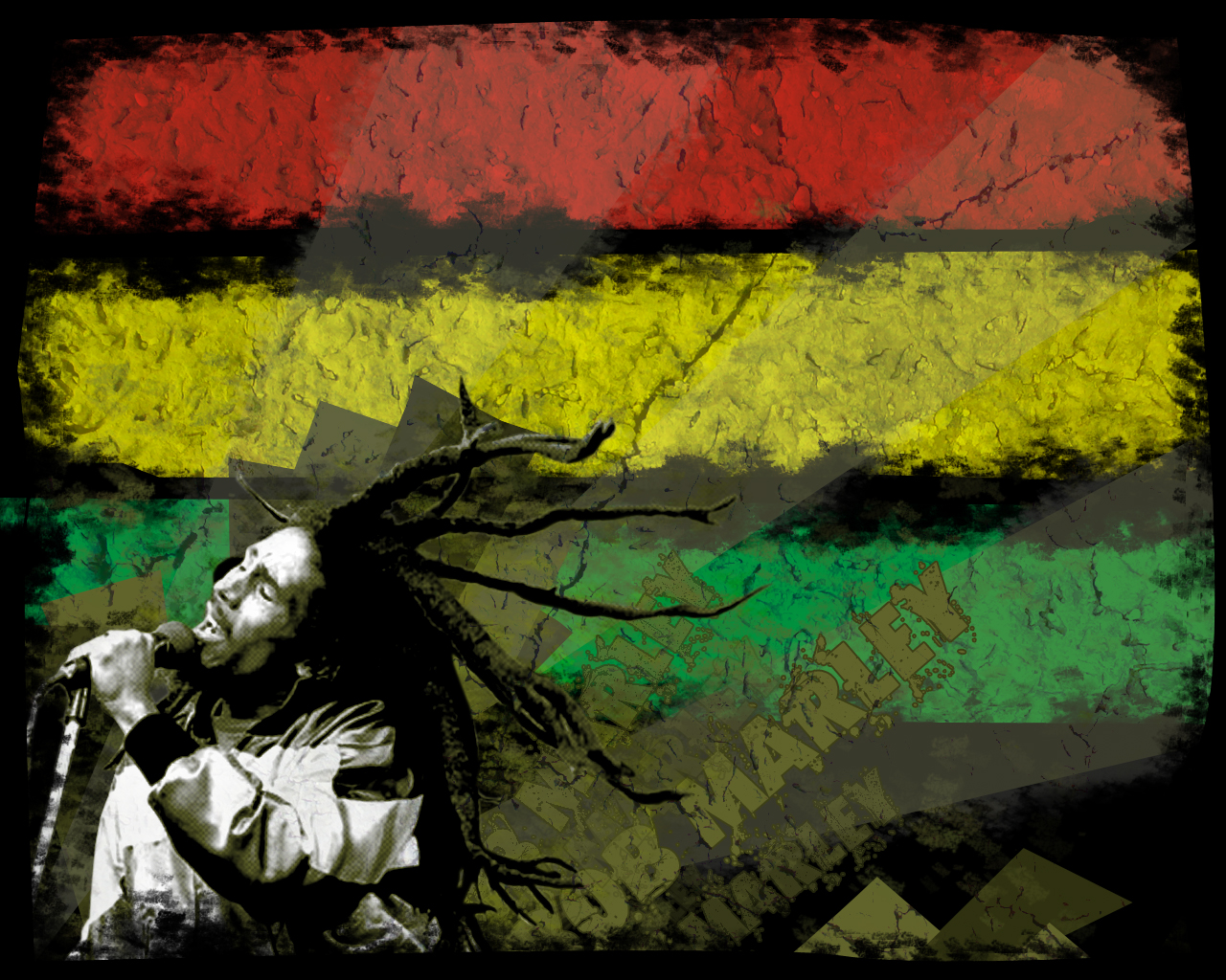 Wall Art Hd Pic : Bob marley wall by dexter sk coolvibe