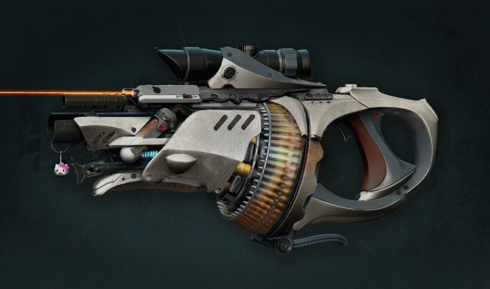 Please share tweet posted in 3d concept art tags 3d gun jeremiah