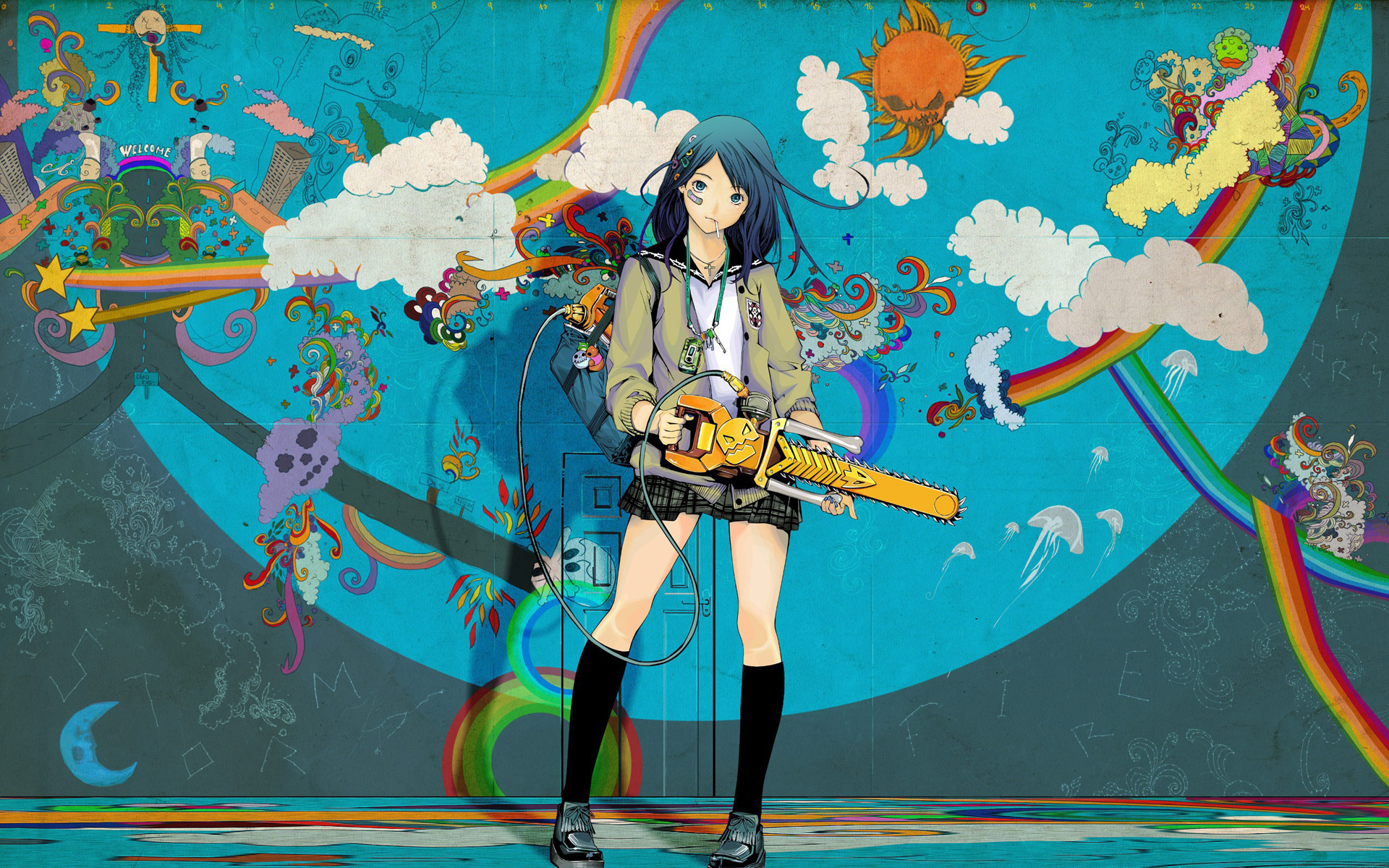anime_wallpaper_chainsaw  Coolvibe  Digital ArtCoolvibe – Digital Art