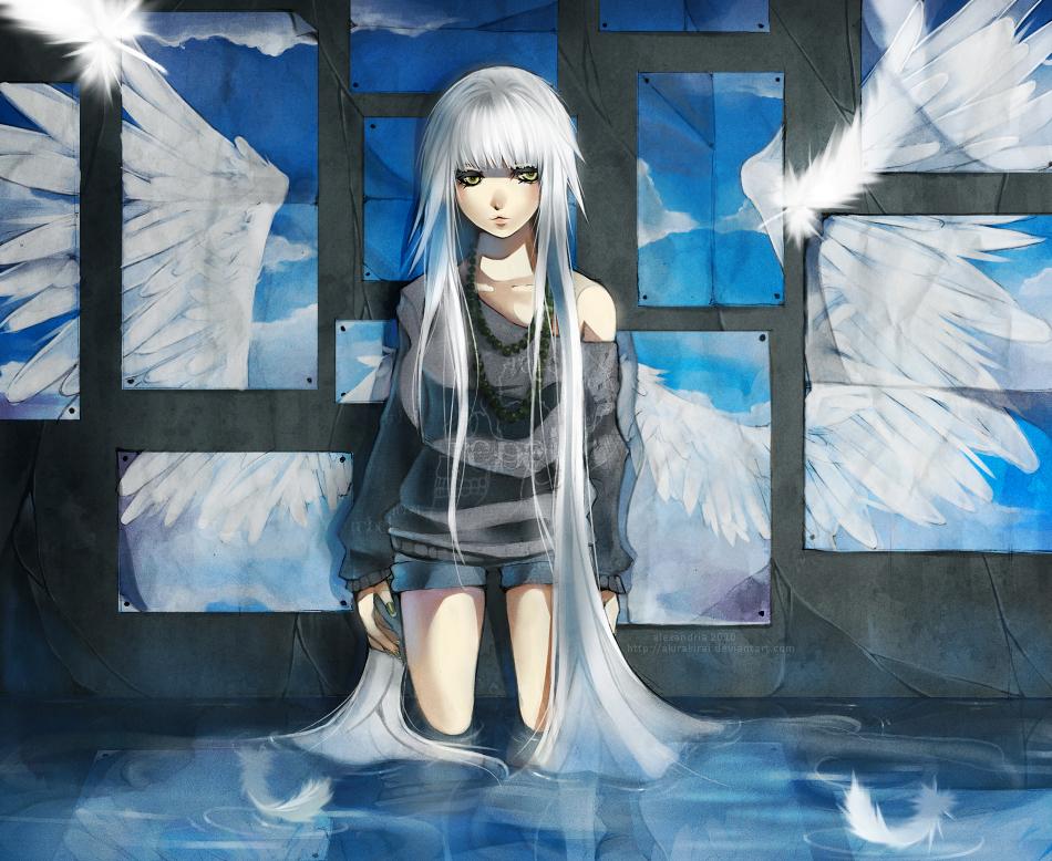 anime girl wings - photo #25