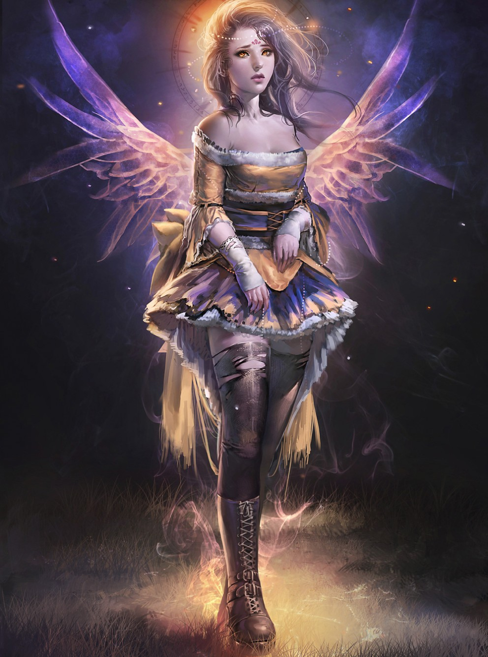 Dream Faerie - Concept art, FantasyCoolvibe – Digital Art