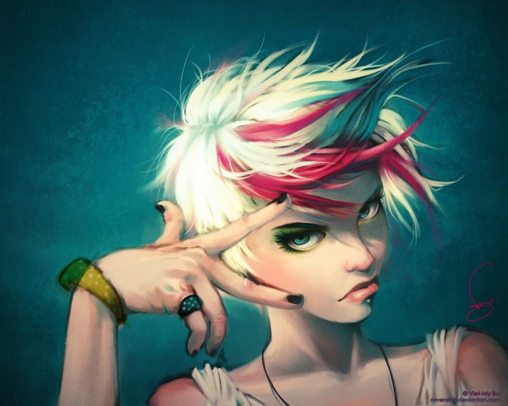 Fan_art_portrait   Coolvibe - Digital ArtCoolvibe U2013 Digital Art