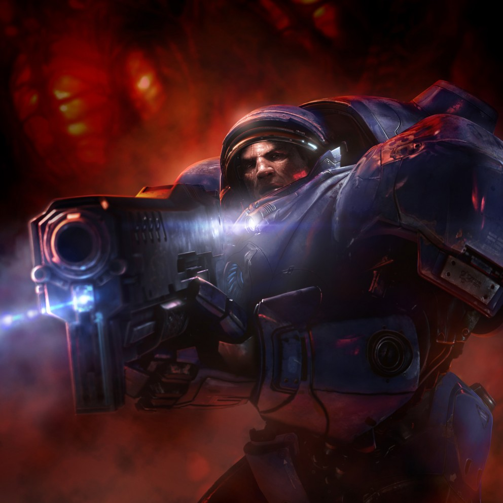 Starcraft 2 Videogame Wallpaper