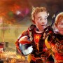 Children Spacepilots - Sci-fi 3D Art