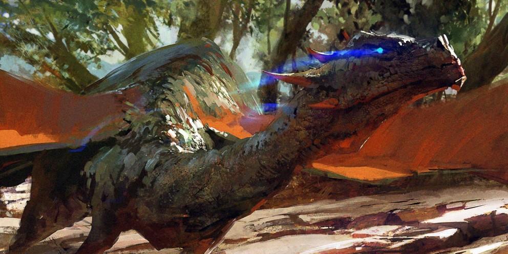 Dragon by Maciej Kuciara