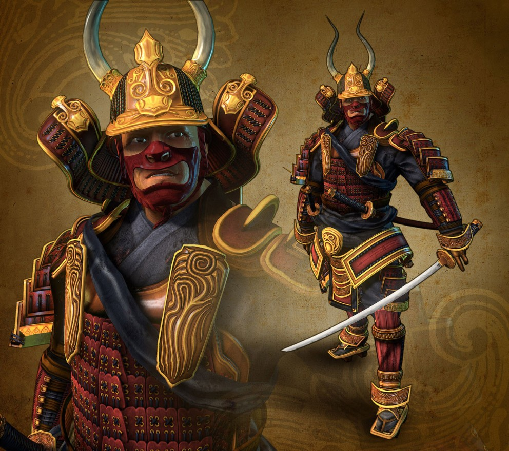 Lotus Samurai Worrier