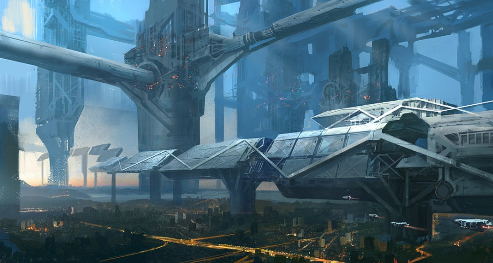 Interior Space Station Concept Art - Pics about space