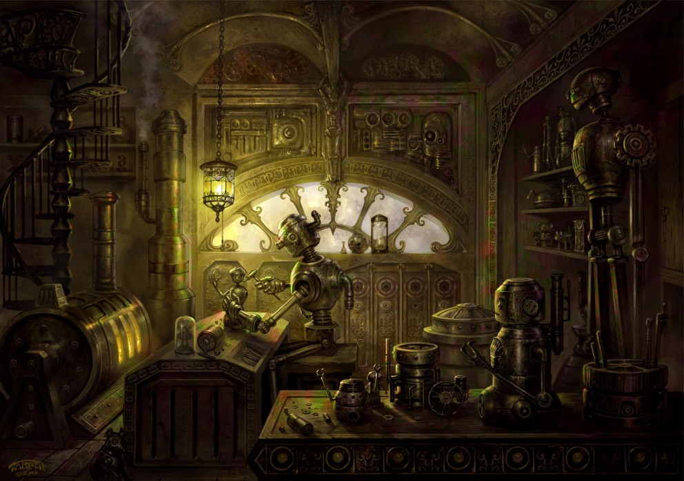 The Tin-Tin Maker - Steampunk