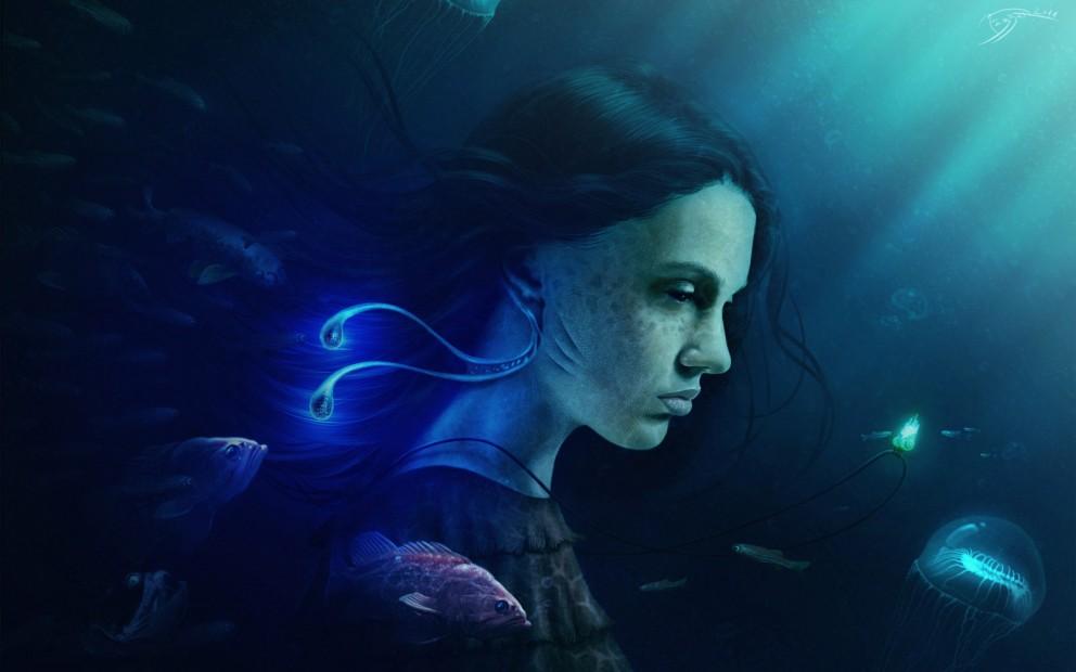Mermaids coolvibe digital artcoolvibe digital art - Fantasy wallpaper digital art ...