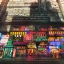 Neon Manga - Digital art