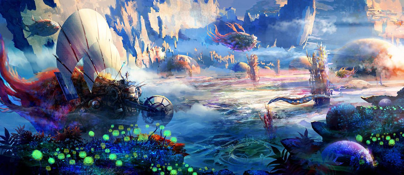 dreamscape by liviu mihai fantasy scenery