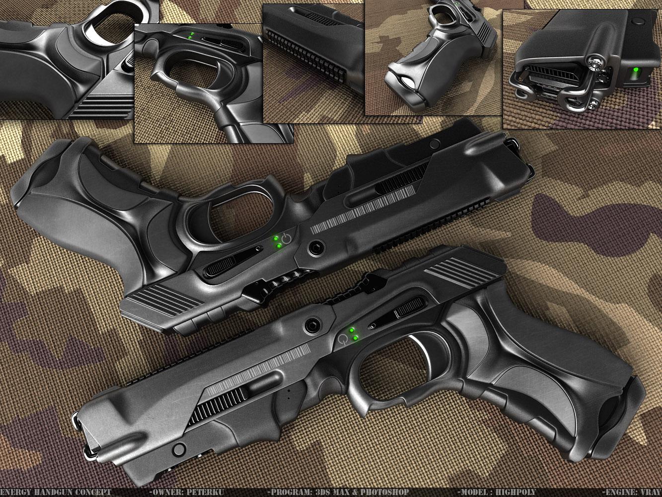 Appropriately Futuristic Guns - Page 4 - New Vegas Mod ...