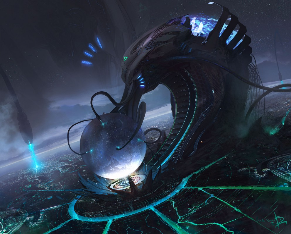 Sci fi wallpaper of the week 40 concept art sci fi for Sci fi background