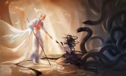 4 Digital Art Illustrations by Yue Wang