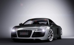 Audi R8 test render