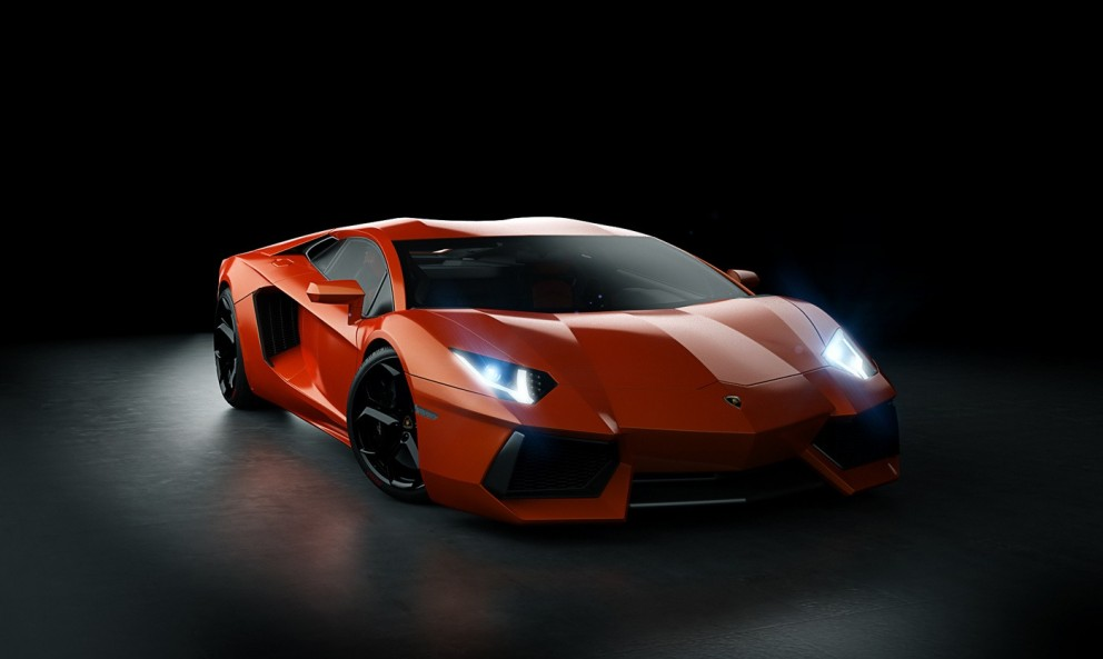 4 wallpaper sized supercar 3d renders - Cool Cars Wallpapers 3d