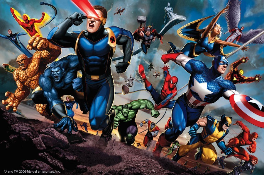 X Men Anime Characters Database : Marvel heroes charge coolvibe digital artcoolvibe