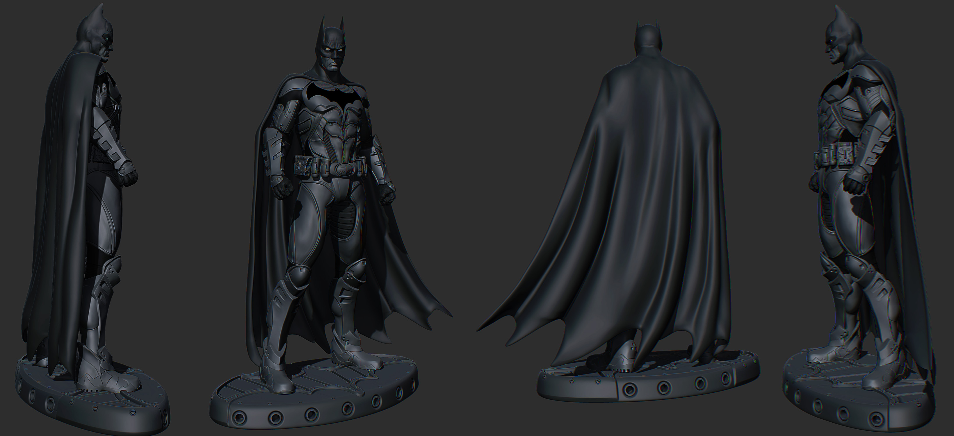 Wallpaper 3d batman batman
