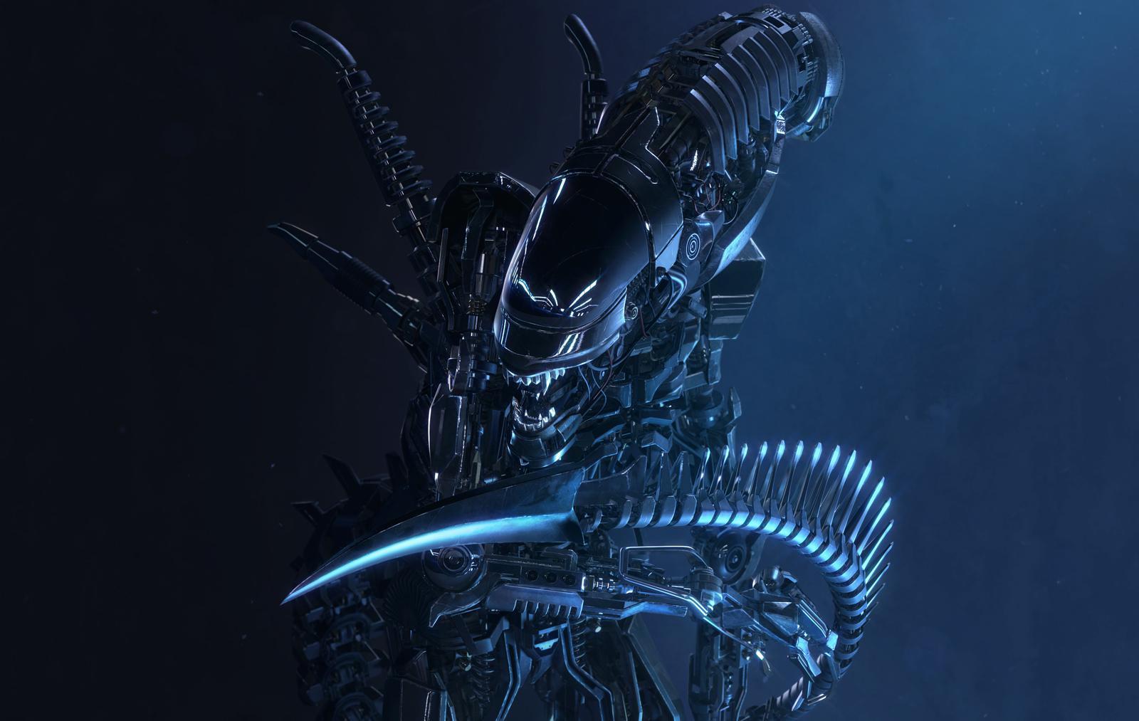 3D Render: Alien Transformer