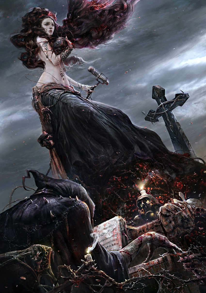 gothic art fantasy artwork - photo #38