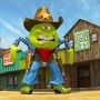 Cartoon Art Victor Ascencao Alien Sheriff